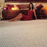 carpete de rolo colocado