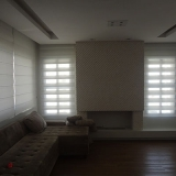 cortina de rolo para sala Parque Peruche
