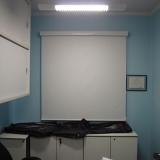 cortina de rolo sala Cantareira