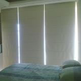 cortina romana com blecaute para quarto Vila Mariana