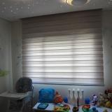 cortina romana para quarto infantil