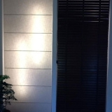 cortina romana para quarto