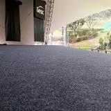 custo de carpete de rolo para escritório Aclimação