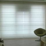empresa de cortina persiana romana quarto Casa Verde