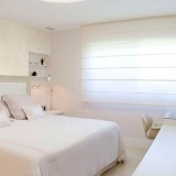 empresa que faz cortina romana no quarto Vila Romana