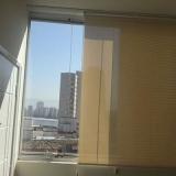 instalação de cortina rolo sala Campo Belo