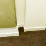 rodapé poliestireno banheiro Serra da Cantareira